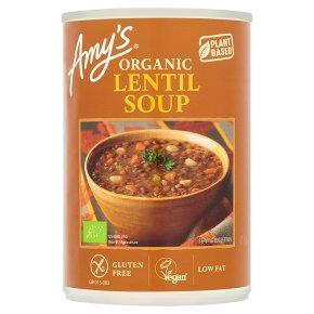 Amy' s Kitchen low fat lentil soup