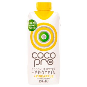 CocoPro Protein Coconut Water with Pineapple
