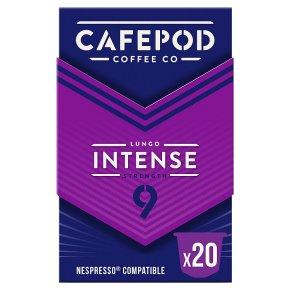 Cafépod Intense 20 Capsules