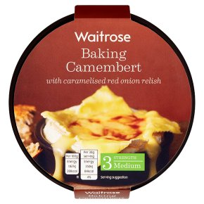 Waitrose Baking Camembert with Red Onion
