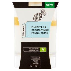 Waitrose 1 Pineapple & Coconut Milk Panna Cotta