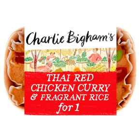 Charlie Bigham's Thai Red Chicken Curry & Rice for 1