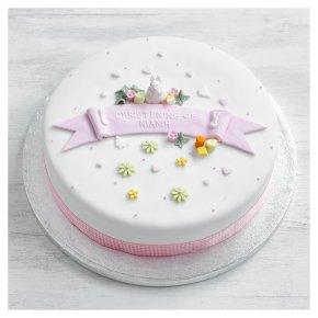 Fiona Cairns Toys Cake (Pink Bunny/ Sponge)