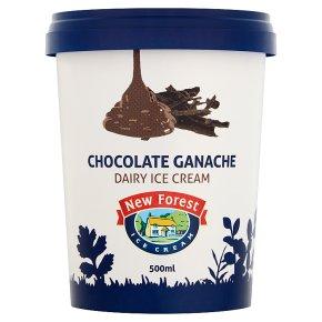 New Forest Chocolate Ganache Dairy Ice Cream