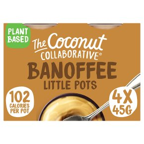 The Coconut Collaborative Banoffee Pots