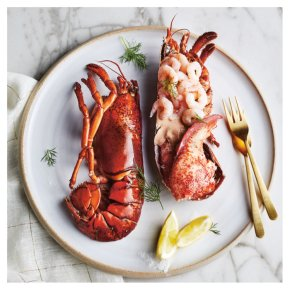 No.1 Dressed Lobster with Prawns