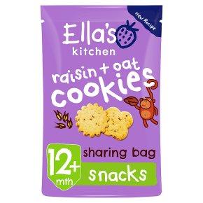 Ella's Kitchen Raisin & Oat Cookies