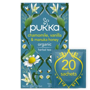 Pukka Chamomile Vanilla Manuka Honey 20Herbal Tea Sachets