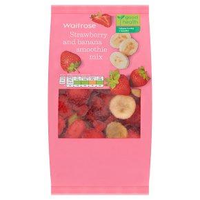 Waitrose LoveLife strawberry & banana smoothie mix