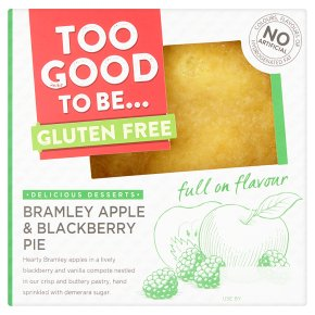 Too Good to Be    Apple & Blackberry Pie