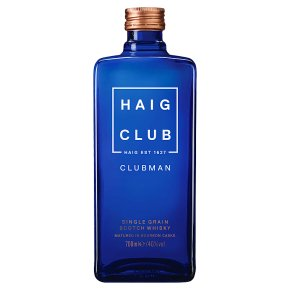 Haig Club Clubman Single Grain Malt Scotch Whisky