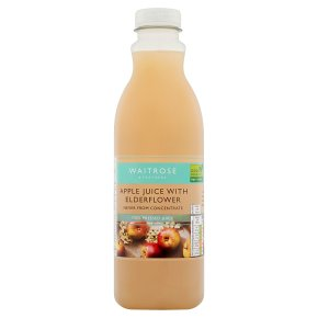 Waitrose Pressed Apple Juice with Elderflower