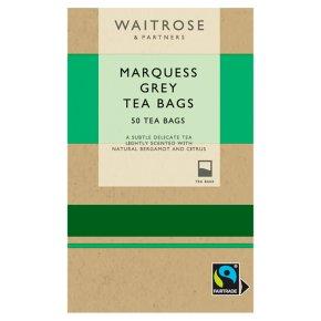 Waitrose fairtrade 50 marquess grey tea bags
