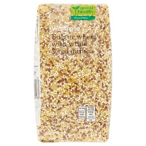 Waitrose LOVE Life bulgur wheat with quinoa