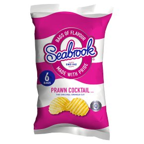 Seabrook prawn cocktail crisps