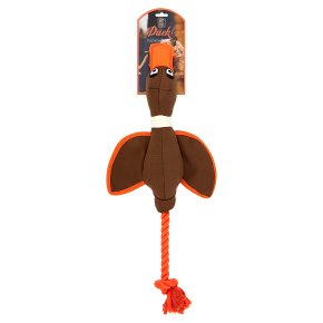 HOP Canvas duck thrower dog toy