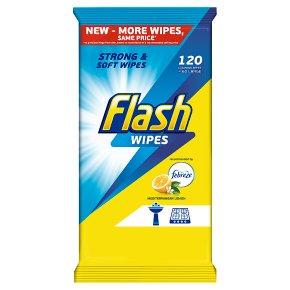 Flash Large Wipes Lemon