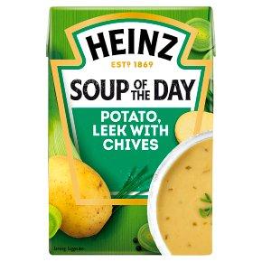 Heinz Potato & Leek with Chives Soup