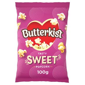 Butterkist Sweet Cinema Style Popcorn