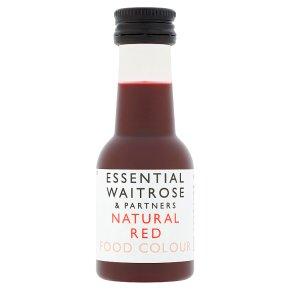 essential Waitrose Red Food Colour