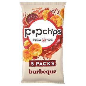 Popchips Corn Chips BBQ