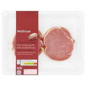 Waitrose 2 Beech Smoked Pork Loin Medallions