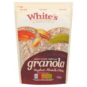 White's Hazelnut, Almonds & Honey Granola