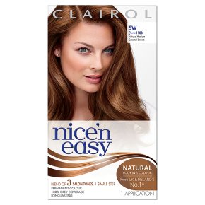 Nice n Easy Natural Medium Caramel Brown 118B Hair Colour
