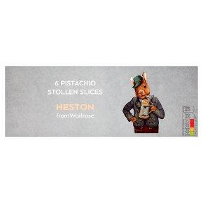 Heston from Waitrose 6 Pistachio Stollen Slices