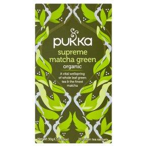 Pukka Supreme Matcha Green 20 Green Tea Sachets
