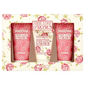 Emma Bridgewater True Love & Roses Travel Set