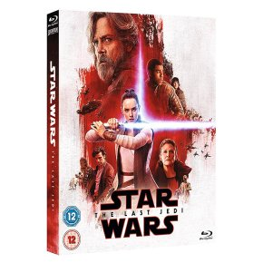Blu-Ray Star Wars The Last Jedi