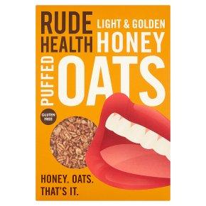Rude Health Honey Puffed Oats