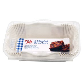 Tala 2lb siliconised loaf liners, pack of 40