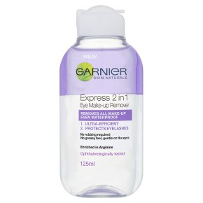 Garnier express 2in1 eye make-up remover