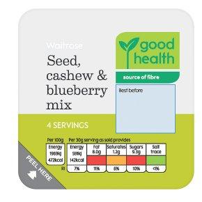 Waitrose Seed, Cashew & Blueberry Mix