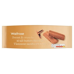 Waitrose 10 chocolate Viennese fingers