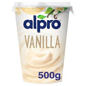Alpro Soya vanilla plant-based alternative to yogurt
