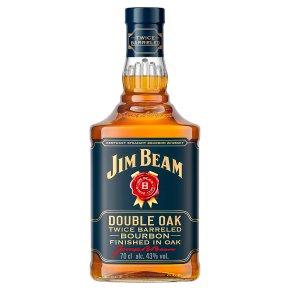 Jim Beam Double Barreled Bourbon Whiskey