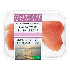 Waitrose Albacore Tuna Steaks