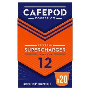 CafePod Coffee Co. Nespresso Capsules Supercharger