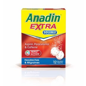 Anadin Extra Soluble Tablets 12 Pack