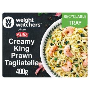 Weight Watchers Creamy King Prawn Tagliatelle