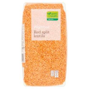 Waitrose LOVE life red split lentils