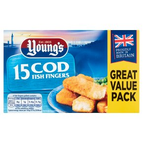 Young's 16 Cod Fish Fingers