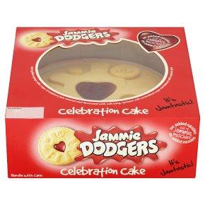 Jammie Dodger Celebration Cake