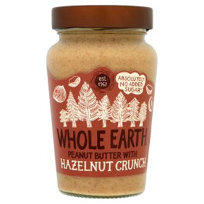 Whole Earth Peanut Butter with Hazelnut Crunch