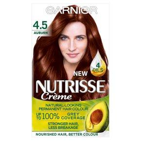 Garnier Nutrisse Chestnut Auburn 4.5