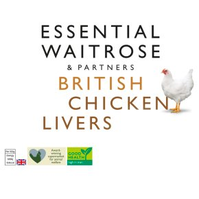 essential Waitrose Frozen British chicken livers