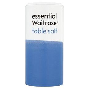 essential Waitrose table salt
